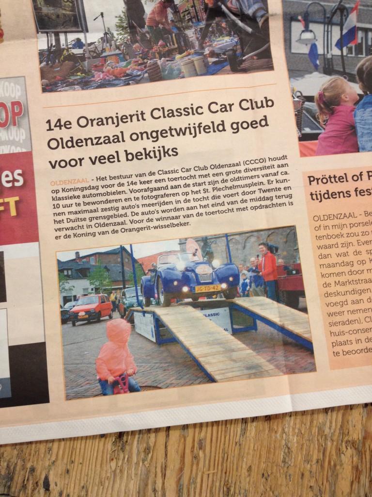 De Glimlach van Oldenzaal 21 april 2015